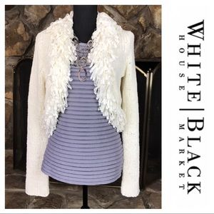 WHBM | White Cardigan | Size XL